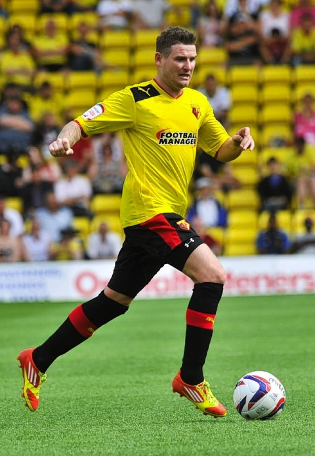 Mark Yeates is enjoying the competition at Vicarage Road this season: Simon Jacobs