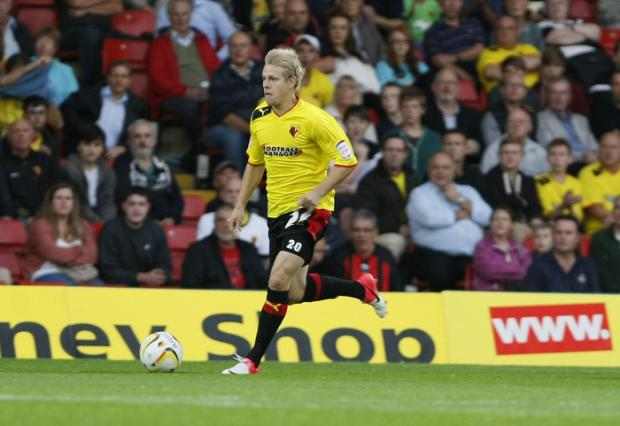 Discuss the action as Watford take on Charlton