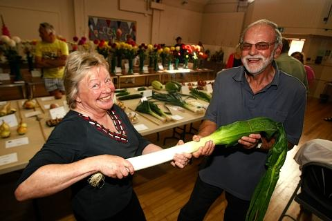 'Stunning' displays at autumn show