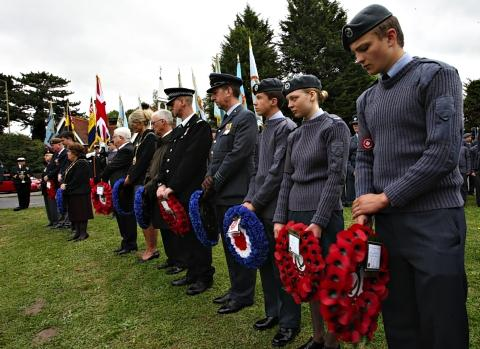 Church packed as crowd gathers to honour Battle of Britain heroes