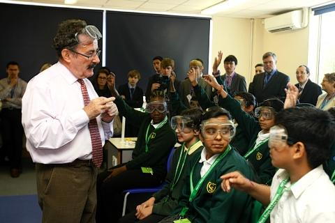 Lord Winston opens learning centre designed to encourage interest in science