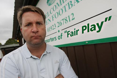 Manager to stay on at Evergreen FC following attack