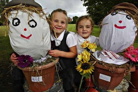 Scarecrows celebrate best of British