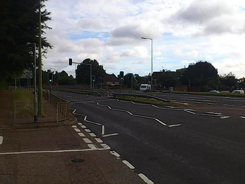 Boy badly hurt in rush hour collision in Watford