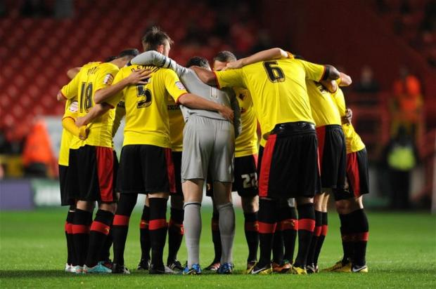 Watford showed a real togetherness at Charlton Athletic. Picture: Action Images