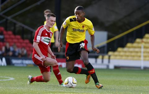 Watford Observer: Chalobah claims he doesn't feel the pressure of highly-rated tag