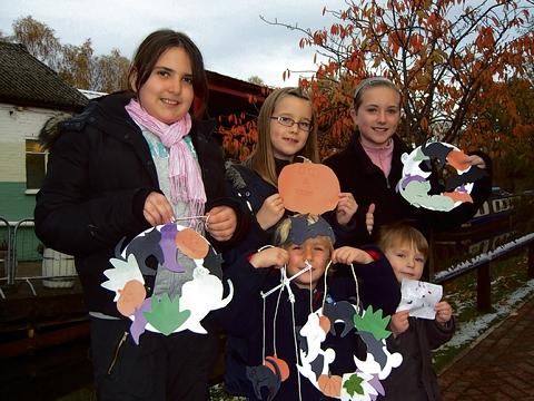 Halloween fun at Frogmore Paper Mill