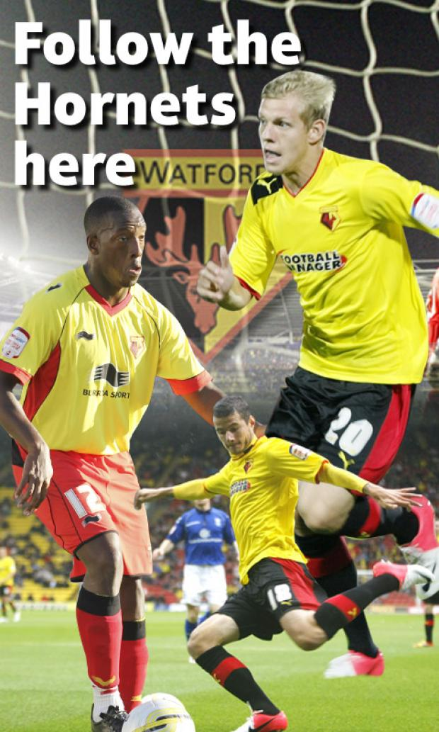 Discuss the action as Watford travel to Brighton