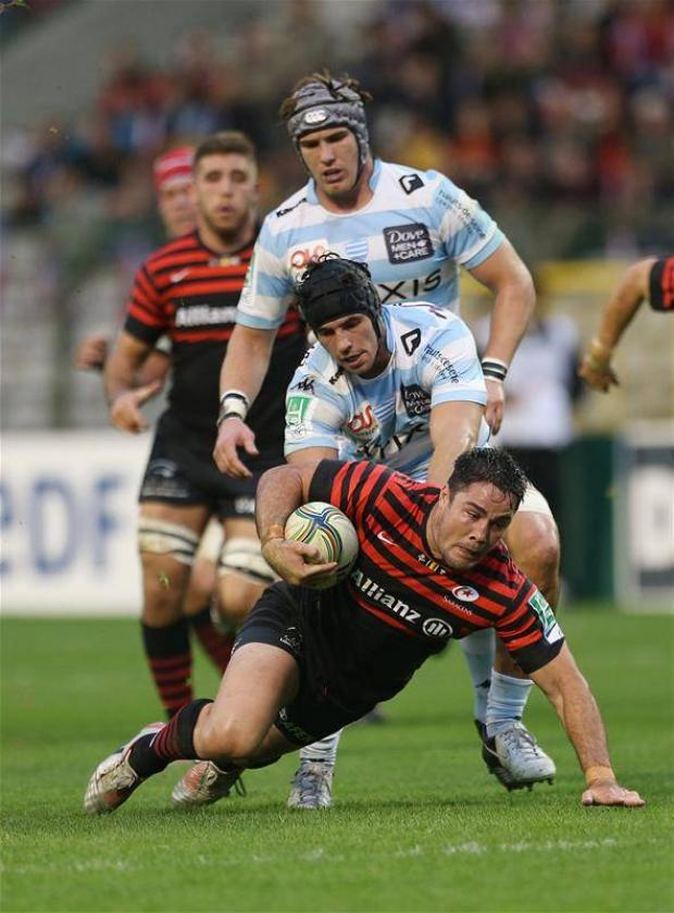 Brad Barritt in action (Picture: Action Images)