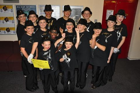 Dance troupe secure joint first