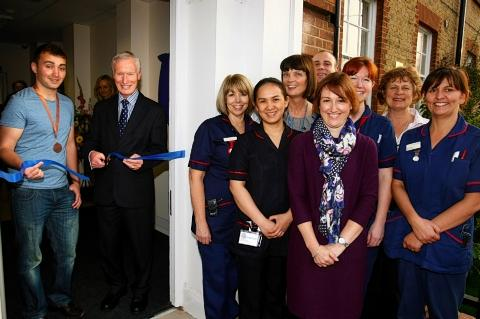 New diabetes centre opened at Watford General Hospital