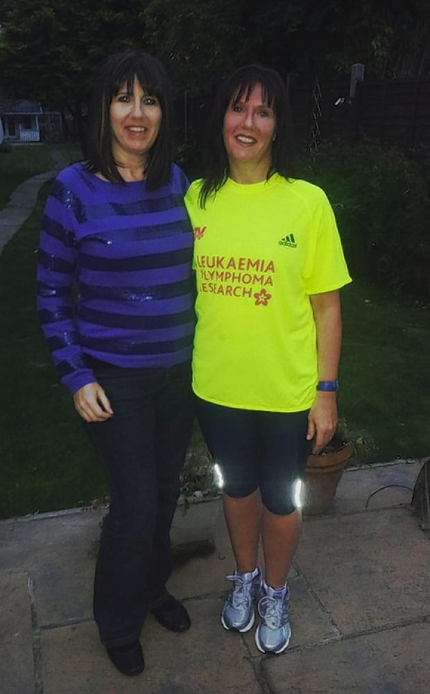 Mum takes part in charity run
