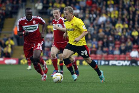 Watford Observer: Matej Vydra. Picture: Holly Cant