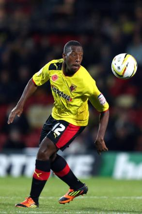 Lloyd Doyley is set to start his 350th game for Watford tomorrow. Picture: Action Images
