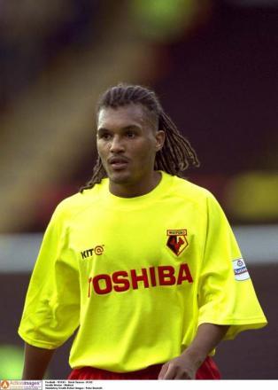 Nordin Wooter during his time at Watford. Picture: Action Images