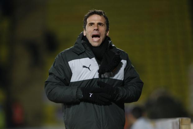 Gianfranco Zola was not too disheartened after his side's unbeaten run was ended. Picture: Holly Cant