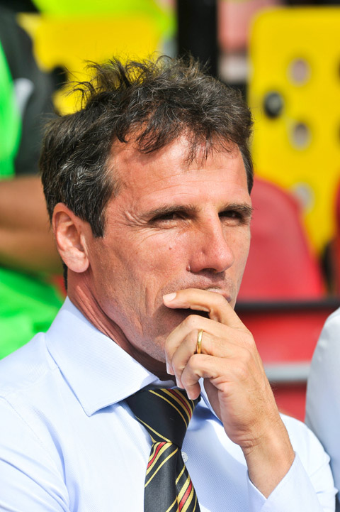 Zola insists Chelsea speculation won't be a distraction