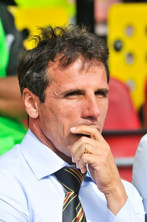 Gianfranco Zola says he is keen to repay Watford