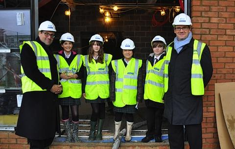 Pupils to bury timecapsule under new sports hall