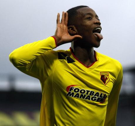 Staying at Vicarage Road: Nathaniel Chalobah. Picture: Holly Cant