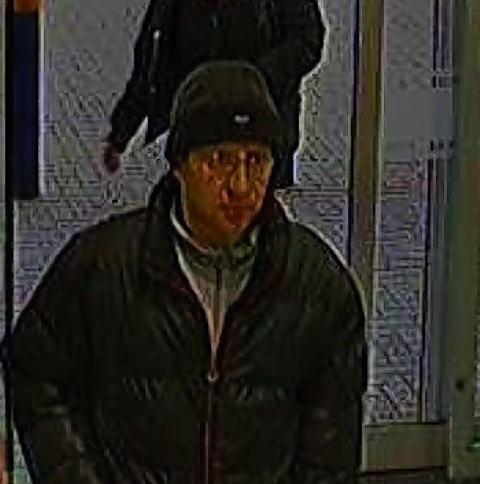 CCTV image released following laptop theft
