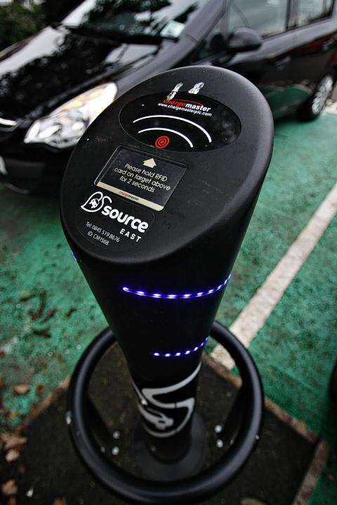 Electric vehicle charging bays for car parks in Watford