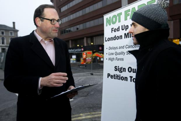 MP takes London Midland petition to commuters