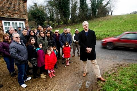 Chorleywood residents campaign for speed limit drop