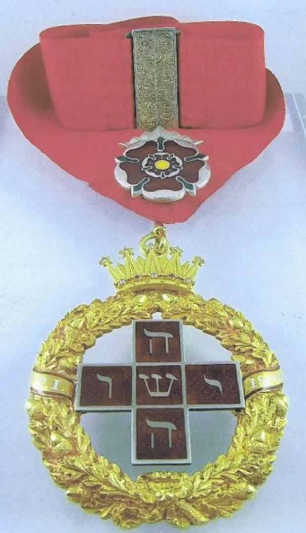 Police appeal after precious medal stolen