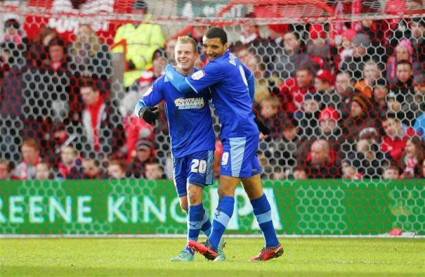 Watford Observer: Troy Deeney and Matej Vydra scored all three of Watford goals this afternoon. Picture: Action Images
