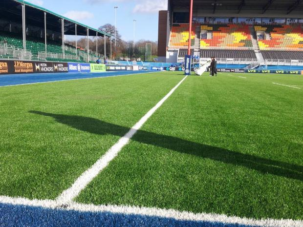 Saracens and Cardiff Blues reflect on new artificial pitch