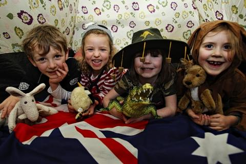 Aussie treats help pupils celebrate Australia Day