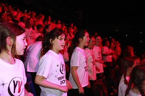 Pupils lend voices to huge city concert