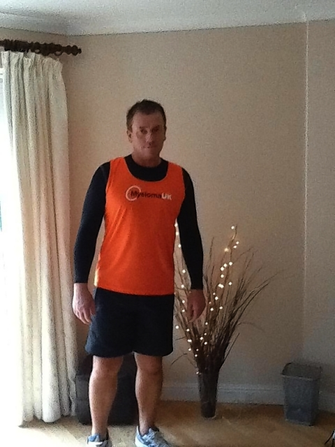 Chris will be running 100 miles in January to raise money for Myeloma UK