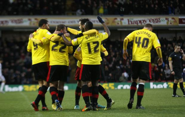 Promotion-challenging Watford return to winning ways