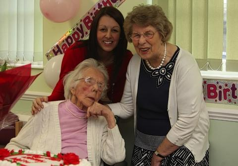 Croxley Green woman celebrates 105th birthday