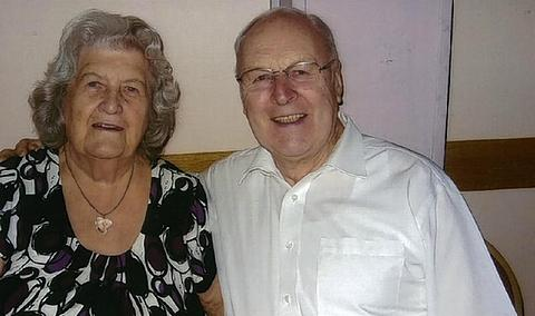 Valentine's Day sweethearts celebrate 60 years of marriage