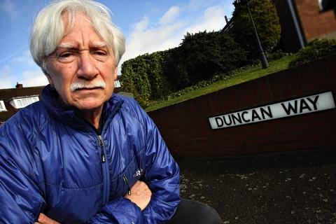 Gerry McCormick, of Duncan Way, said the recent concentration of burglaries has left an unnerving feeling in the area