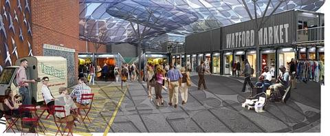 Artist impression of what the new market could look like