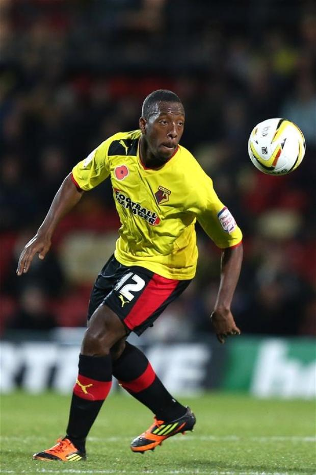 Lloyd Doyley is one of three Hornets named in Team of the Week. Picture: Action Images