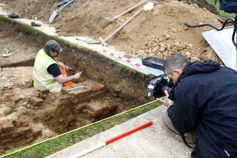 Northwood archaeology dig to feature in TV show