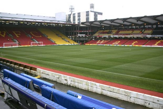 Vicarage Road. Picture: Action Images