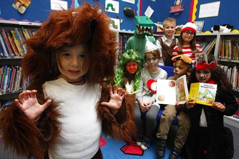 Pupils bring characters to life for World Book Day