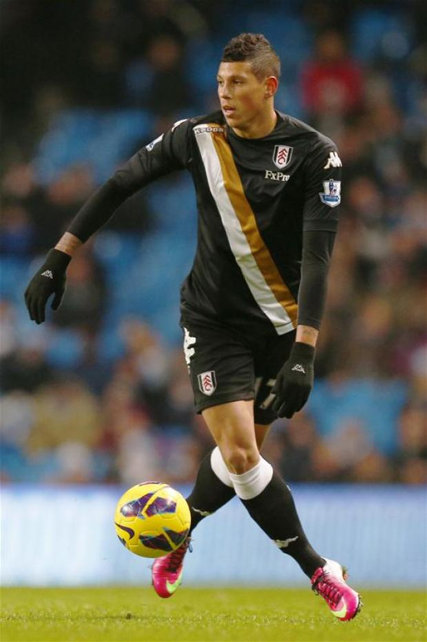 Matthew Briggs in action for Fulham. Picture: Action Images