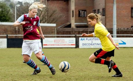 In sparkling form: Sarah Wiltshire scored a hat-trick on Sunday. Picture: Raj Theivam