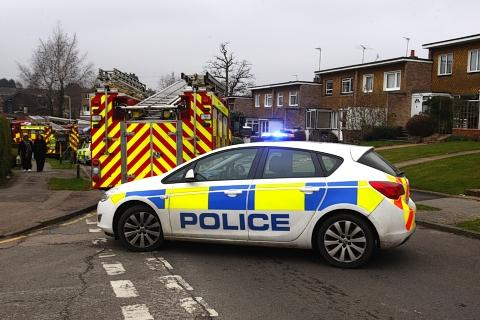 Electrical fault causes house fire in Carpenders Park