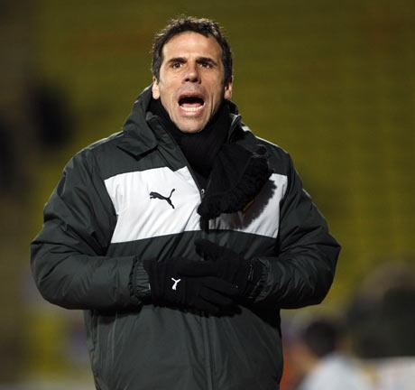 Gianfranco Zola. Picture: Holly Cant