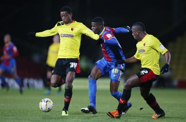 Twelve years separate Nathaniel Chalobah (left) and Lloyd Doyley (right). Picture: Action Images