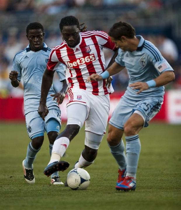 Neven Markovic in action against Stoke City in a friendly last summer. Picture: Action Images
