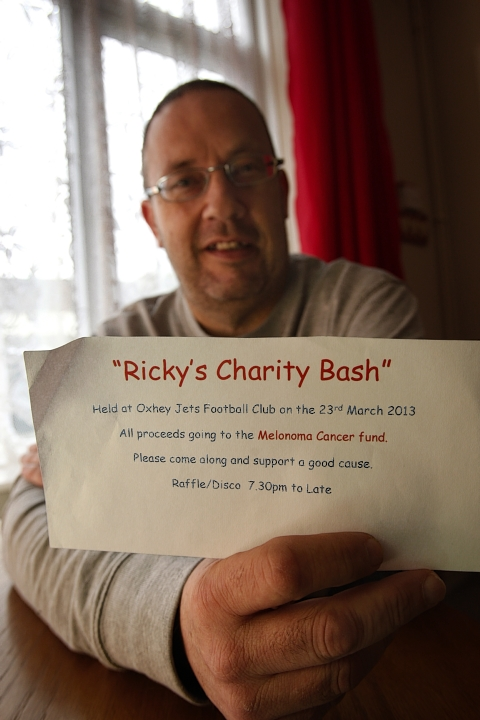 Ricky Worland was inspired to organise the event after receiving treatment over the past six years.